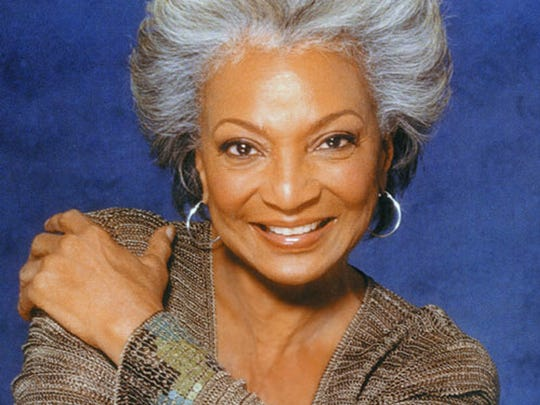 "Nichelle Nichols, communications officer Uhura on ""Star Trek,"" will be at Indiana Comic Con on April 14-16."