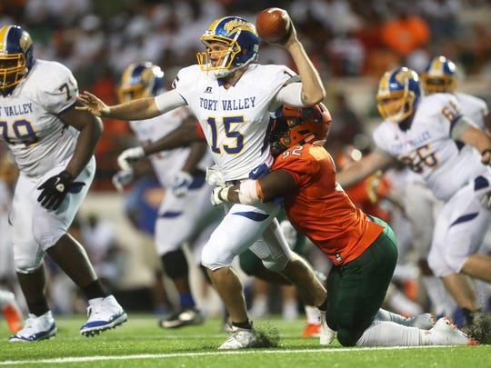 FAMU's Derrick Mayweather drags down Fort Valley State