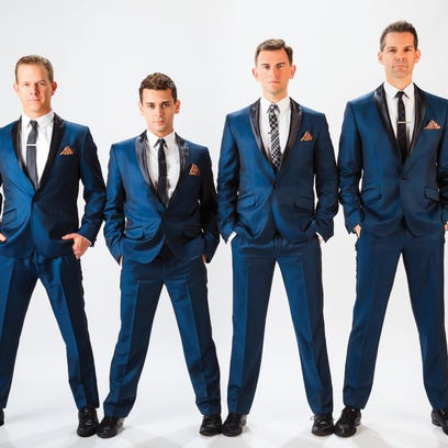 """The Midtown Men, the original cast members of Broadway's """"Jersey Boys,"""" opens the Brooks Center's season on Sept. 8."""