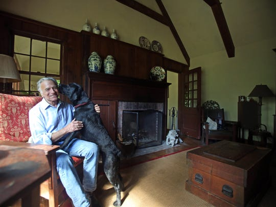 David Landay is photographed at his home, Sept. 22,
