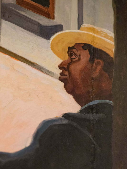 from Thomas Hart Benton's mural A Social History of the State of Missouri