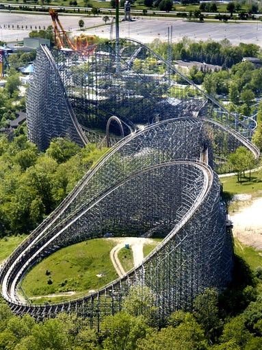 """While Kings Island celebrates its new Banshee roller coaster, we look back at the Son of Beast, Bat, King Cobra, Screamin' Demon, Flying Eagles and other long-gone rides from the park.  Kings Island officials call them """"retired attractions."""" Long-time park goers call them something else: their favorite rides. Reporter John Kiesewetter dug through Enquirer archives to compile 40 years of former rides. How many do you remember?"""