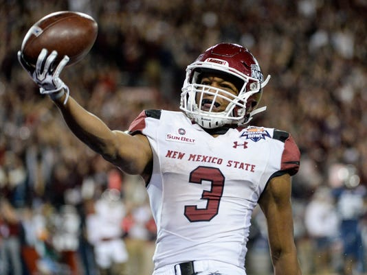 NCAA Football: Arizona Bowl-New Mexico State vs Utah State