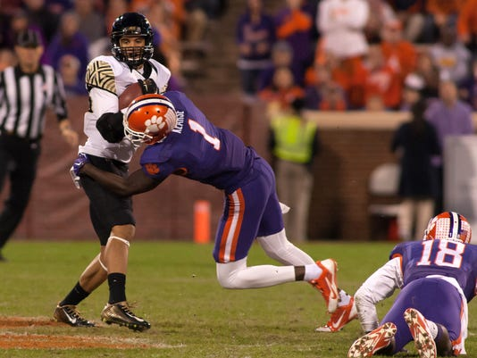 NCAA Football: Wake Forest at Clemson
