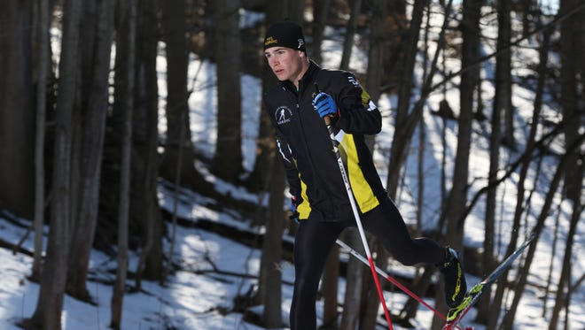 Andrew Warfle of Honeoye Falls-Lima is the AGR Boys Nordic Skier of the Year.