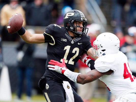 NCAA Football: Indiana at Purdue