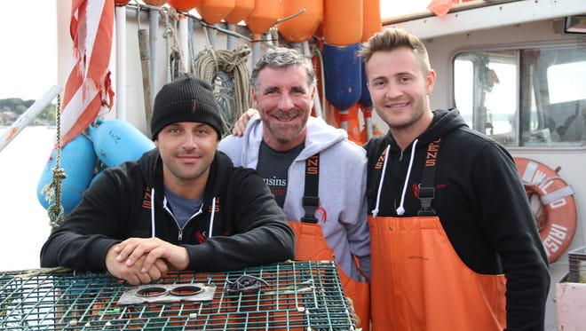 Cousins Maine Lobster co-founder Sabin Lomac, Nashville franchisee Craig Betts and Cousins Maine Lobster co-founder Jim Tselikis