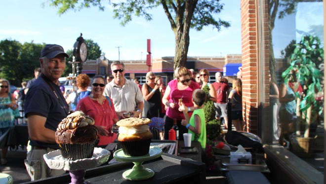 M Street Bakery Co. delighted Rock the Blockers with a variety of cupcakes during last year's event.