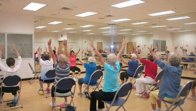 SHARE Club's exercise programs also incorporate emotional and intellectual wellness.