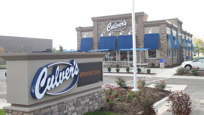 Culver's franchisee Charles Paisley plans to build a new 4,310-square-foot restaurant and drive-thru at 6830 Whitmore Lake Road in Green Oak Township near Brighton. Paisley said it would be similar and slightly larger than a Culver's he opened in 2016 at 3900 E Grand River Ave., seen in this photograph taken Oct. 4, 2016.