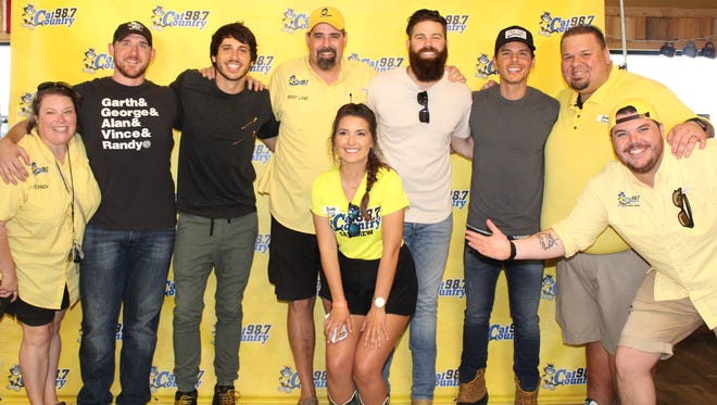 Pensacola country radio station Cat Country 98.7 raised $14,833  for Santa Rosa Kids' House at a sold-out concert March 25, 2018, starring Granger Smith.