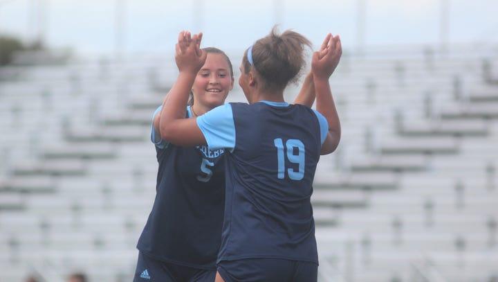 Boone County senior Rielyn Hamilton reaches a new goal: Eclipsing school's scoring record