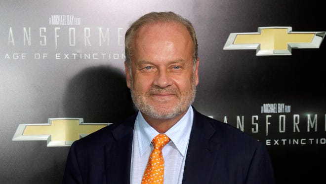 Kelsey Grammer attends the premiere of 'Transformers: Age of Extinction' in New York on June 25, 2014. Grammer testified against the release of Freddie Glenn, who is serving a life sentence for the first-degree murder of Grammer's sister Karen Elisa Grammer in 1975.