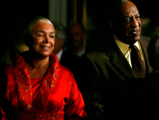Camille and Bill Cosby at Kennedy Center to receive