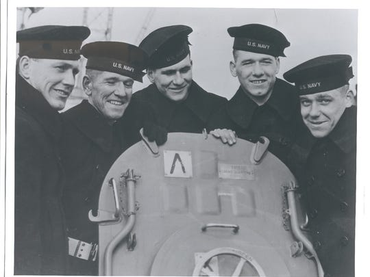 Waterloo's five Sullivan brothers died when their ship, the USS Juneau, was sunk in 1942.