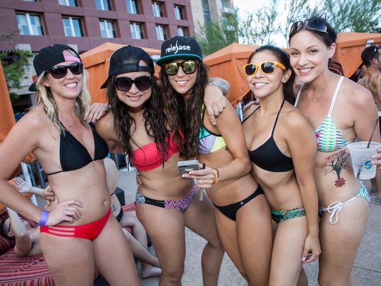 Major EDM DJs often perform at the Release Pool Parties at Talking Stick Resort.