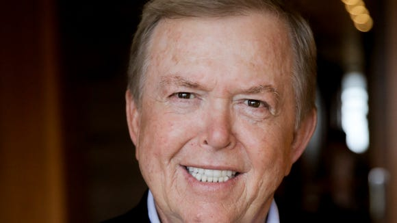 Fox Business Channel anchor Lou Dobbs, photographed