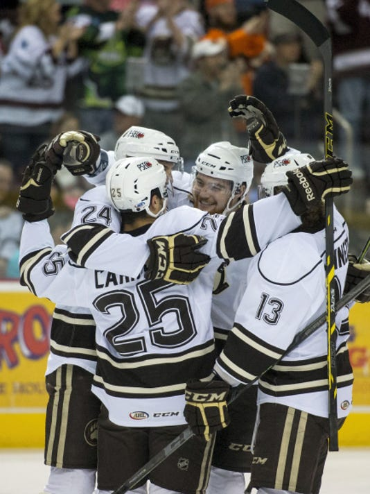 The Hershey Bears will take the ice at Giant Center for the first time in the 2015-16 season on Thursday, Oct.1 when they host the Albany Devils in a preseason opener  at Giant Center.