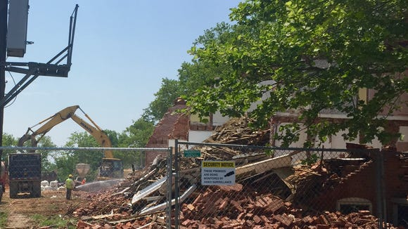 Enterprise Masonry Corp. was cited by the U.S. Department of Labor Occupational Safety and Health Administration on Sept. 23 after a worker suffered heat exhaustion while working on The Flats redevelopment project in Wilmington on July 28.