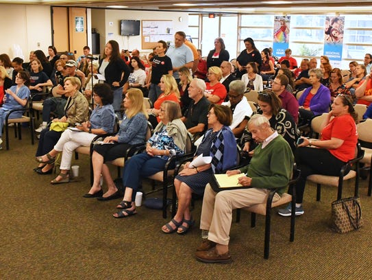 FLORIDA TODAY hosted a town hall meeting concerning