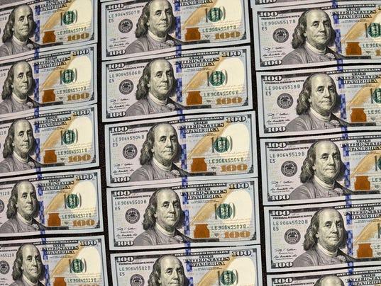 AP $100 Bills