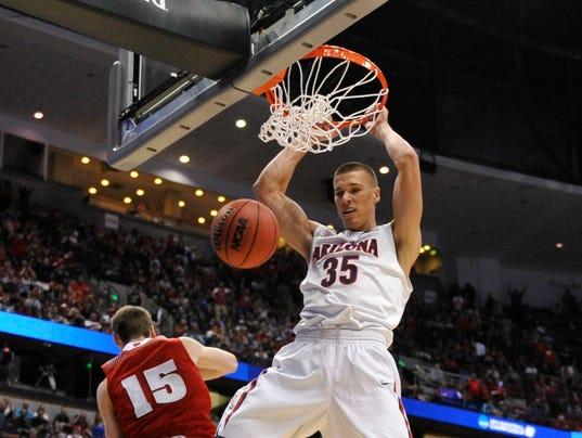 USP NCAA BASKETBALL: NCAA TOURNAMENT-WEST REGIONAL S BKC USA CA
