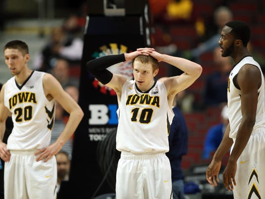 NCAA Basketball: Big Ten Conference Tournament-Penn State vs Iowa