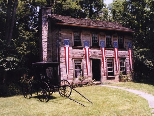 1813 Lewisburg Log House (used in 2002 Answer Book)