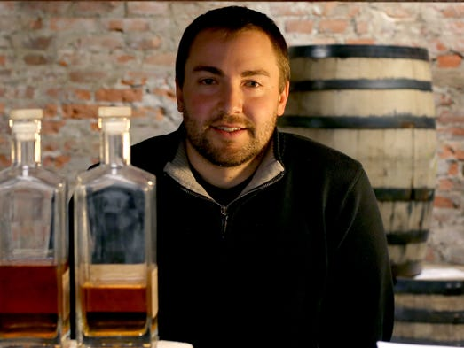 J.P. Jerome,33, Partner & Distiller at Detroit City