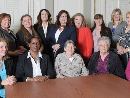 Women for Tennessee's Future held a news conference on Tuesday, April 5, 2016, announcing candidacies of women running for state legislature.
