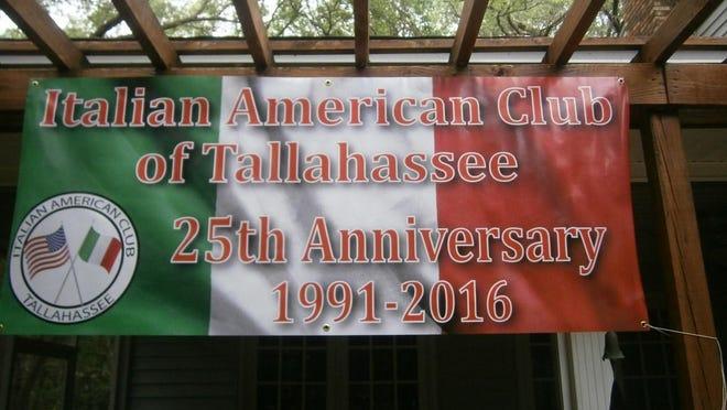 Tallahassee's Italian American Club is celebrating its 25th anniversary.