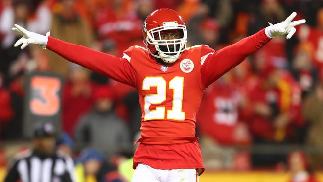Kansas City Chiefs cornerback Bashaud Breeland will return this week after serving a four-game suspension to start the 2020 season.
