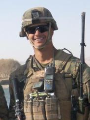 Sgt. Amos Benjamin, U.S. Marine Corps