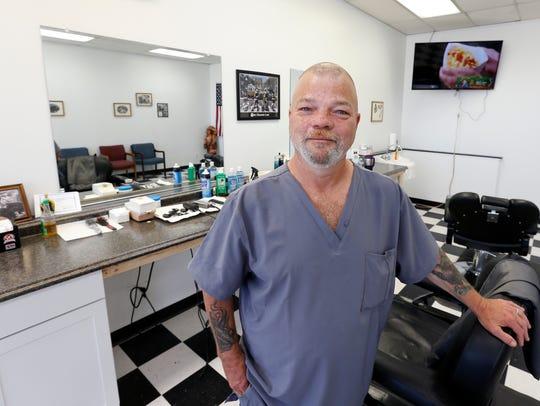 Garry Parsley opened East Coast Barbershop at 3156