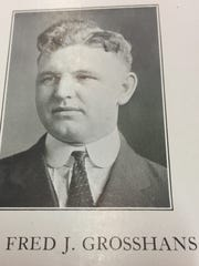 """Fred """"Fritz"""" Grosshans was credited for giving Lafayette Jefferson High School the nickname the Bronchos. The name stuck after he called his 1921-22 team a """"bunch of little, fighting Bronchos."""""""