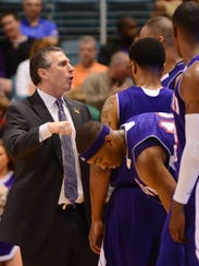 Salisbury University graduate Bill Lewit talks to Northwestern