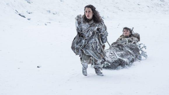 Brrr! Um, we mean Bran (Isaac Hempstead Wright), right,