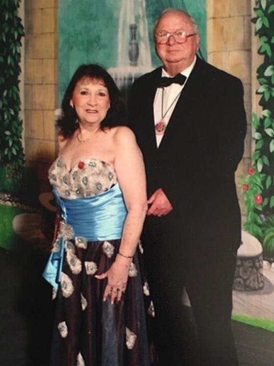 Anniversaries: John and Birdie Waldrup & Kaye Farve