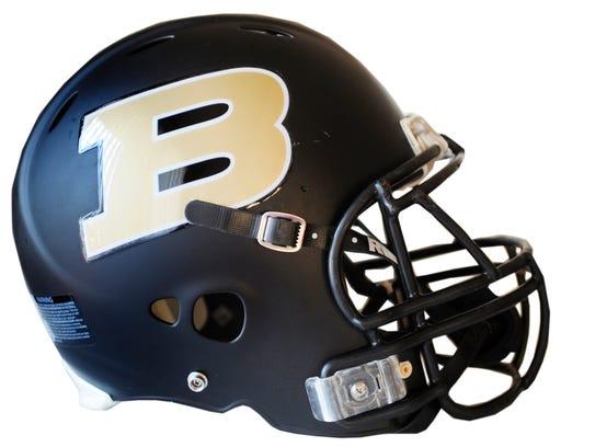 Biglerville football helmet