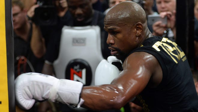 Floyd Mayweather plans to open a chain of gyms.