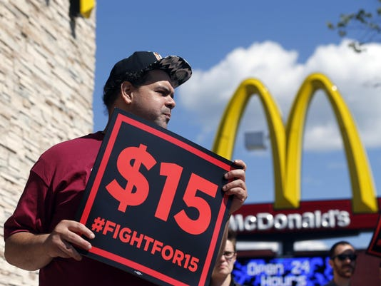 Minimum wage fast food