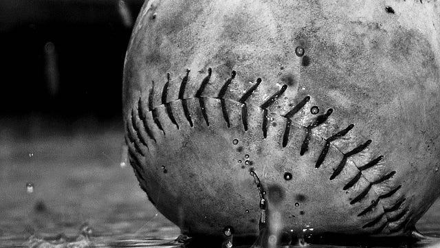 Baseball rain