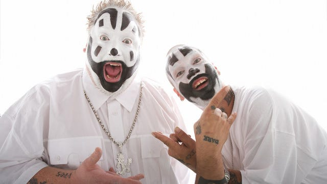 Violent J, left, and Shaggy 2 Dope