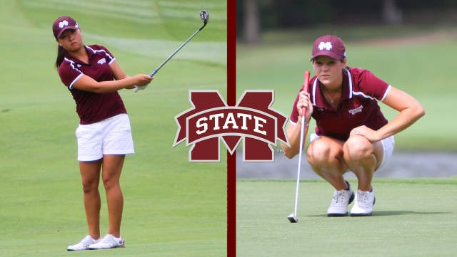 Mississippi State's Ally McDonald and Jessica Peng were named all-conference golfers by the SEC on Friday.