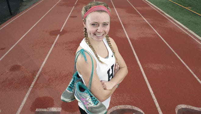 Haddonfield runner Briana Gess is looking to cap her scholastic career in style.