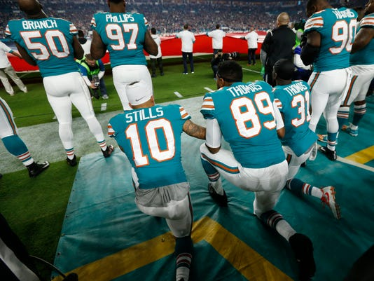 Kenny Stills, Julius Thomas, Michael Thomas