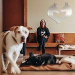 Even old, sick dogs find love at Michigan's only animal hospice