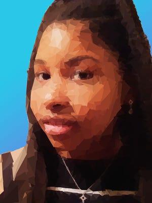 "Izira Burley, Middletown High, ""Self Worth,"" digital; Adobe Photoshop"