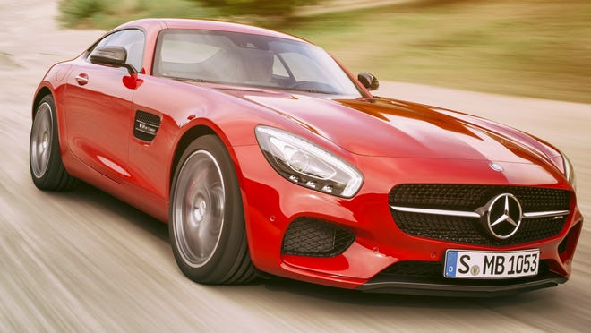 Mercedes Benz introduces its Mercedes AMG GT.