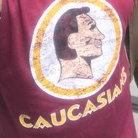 1785bc5cc My  Caucasians  shirt exposes hypocrisy over racist logos